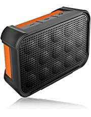 iCreation Portable Bluetooth Speaker with IP67 Waterproof shower speaker, 16W Audio Driver, TWS play, Build-in MIC, 15 Hours Max Volume Playing Time, Bluetooth V4.0, for Home,Shower,Outdoor Activities, Gift.