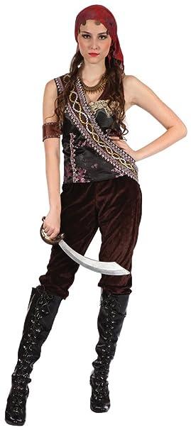 Bristol Novelty AC165 Traje Pirata gitana Mujer: Amazon.es ...