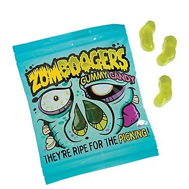 Zombie Boogers Gummies Gummy Candy (18 packs)]()