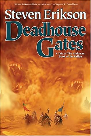 book cover of Deadhouse Gates