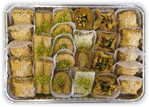 Baklava Assortment - 29 Pc. (Baklava Greek Pastry)