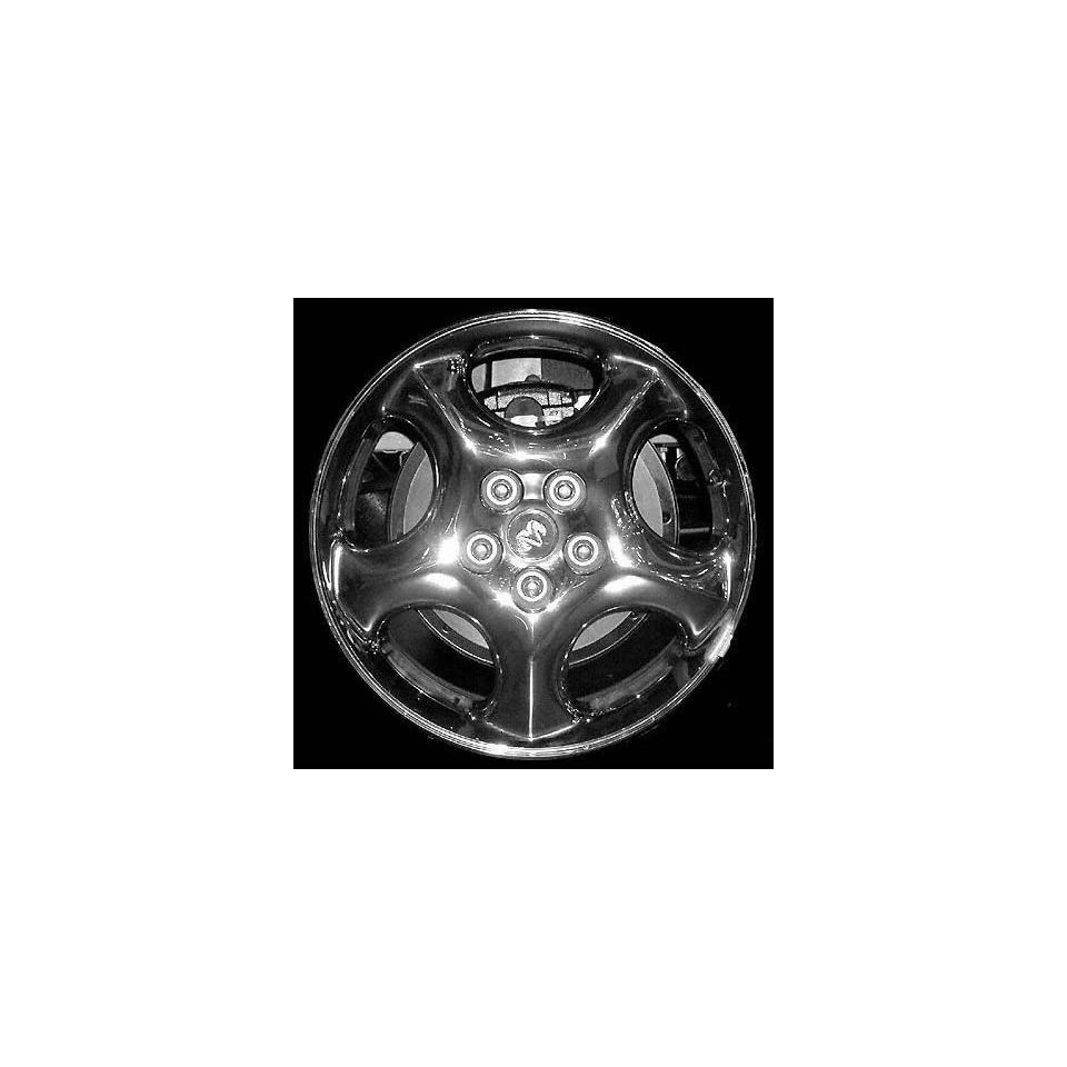 01 02 DODGE GRAND CARAVAN ALLOY WHEEL RIM 17 INCH VAN, Diameter 17, Width 6.5 (5 SPOKE CHROME), CHROME, 1 Piece Only, Remanufactured (2001 01 2002 02) ALY02156U85