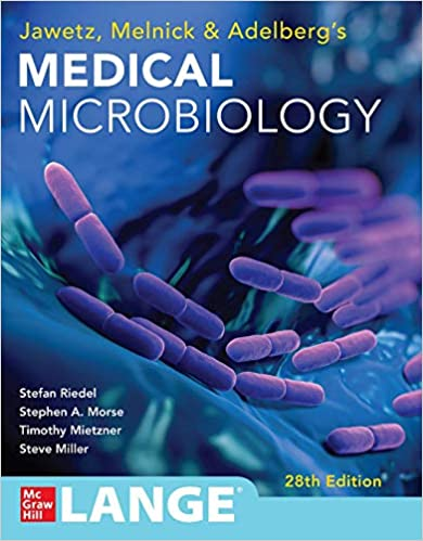 Jawetz Melnick & Adelbergs Medical Microbiology 28 E (Jawetz, Melnick, & Adelberg's Medical Microbiology), 28th Edition - Original PDF