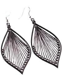 Vintage Earrings Dangle Women Alloy Elegant Fashion Leaf Ear Stud Earrings Eardrop Jewelry