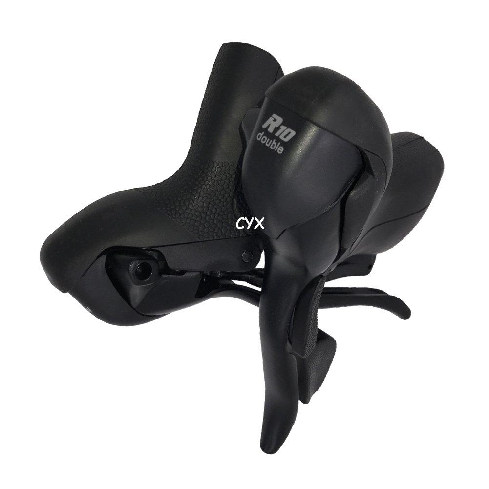 micronew sb-r502ダブル2 x 10スピードShifterロード自転車レバーブレーキDerailleur互換for Shimano Shifter B078KTCQ4G