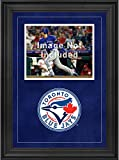 """Sports Memorabilia Toronto Blue Jays Deluxe 8"""" x 10"""" Horizontal Photograph Frame with Team Logo - Baseball Other Display Cases"""