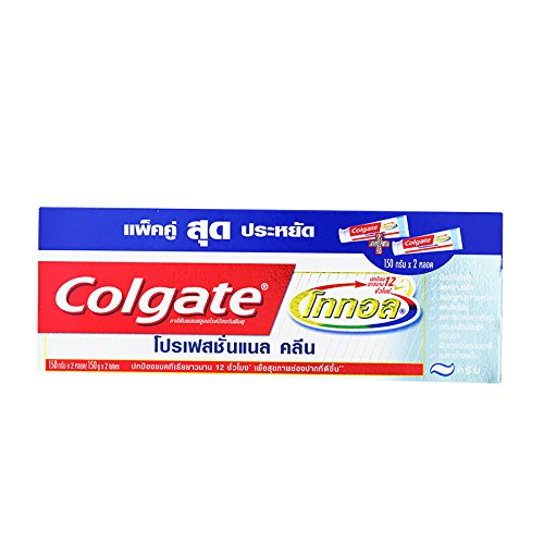 (Colgate, Toothpaste, Total Professional Clean, 150 g (Pack of 2)