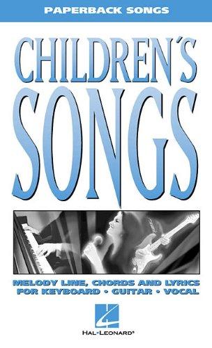 - Children's Songs (Paperback Songs)
