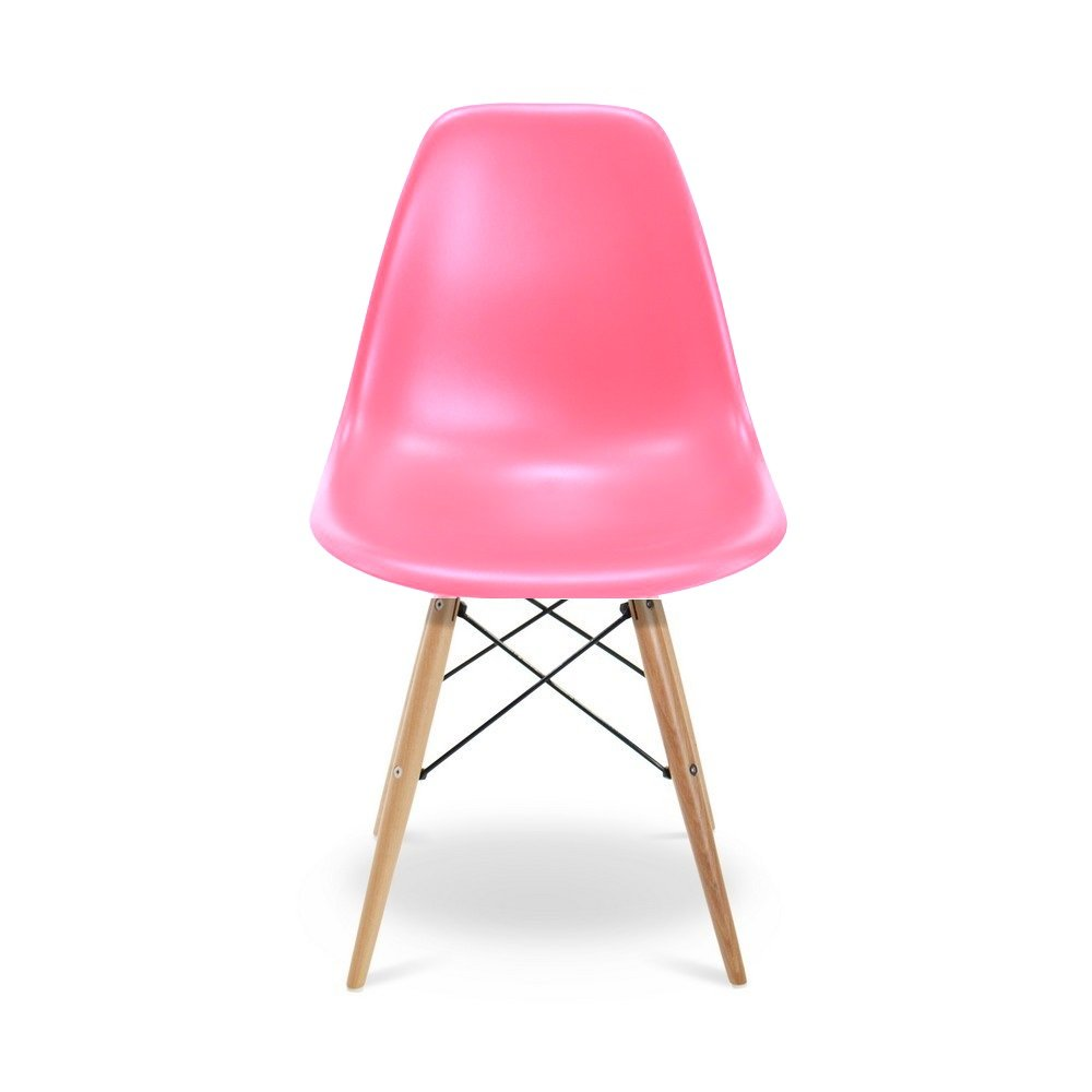 Plata Import PDI-PC-0117W Eiffel Wood Kids Chair, Pink Plata Décor Import Inc