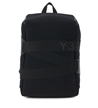 01d13001302e Y-3 Men s Y-3 Backpack Qasa Small In Technical Fabric And Leather Black