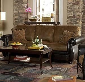 Wrangler II Sofa Color: Dark Brown