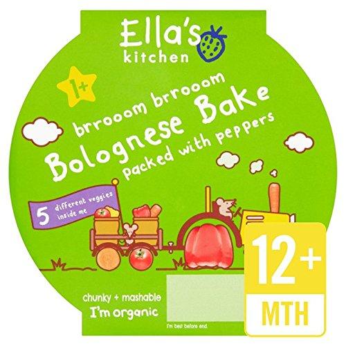 Ellas Küche Little Big Mahlzeit Bolognese-Bake Stufe 4 200g Ella' s