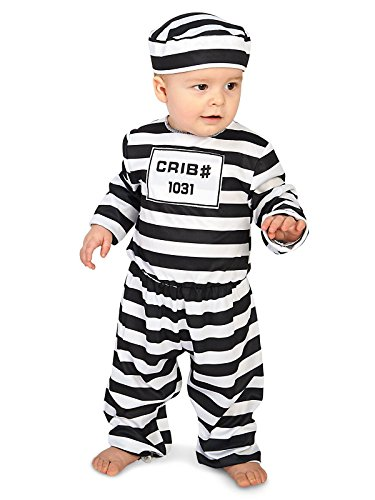Doin' Time Infant Costume (Infant Gangster Costume)