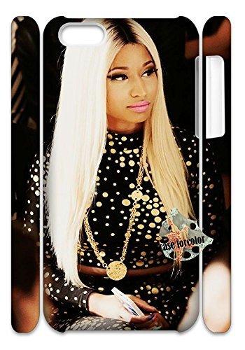 [case forcolor]:Nicki minaj Hard Case for Iphone 5c (3D).
