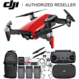 DJI Mavic Air Drone Quadcopter (Flame Red) Backpack Ultimate Bundle