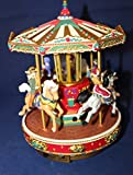 Mr. Christmas Holiday Go Round Carousel - Plays 50 Great Songs Including 25 Christmas Carols
