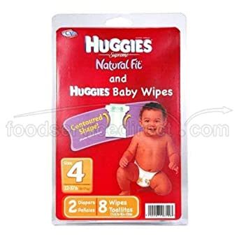 Convenience Valet Huggies Diaper Kit - 12 per case.