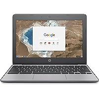 2017 HP 11.6 Inch high performance Chromebook Laptop Computer, Intel Celeron N3060 Up to 2.48GHz, 4GB Memory, 16GB eMMC, WiFi 802.11ac, USB 3.1, Bluetooth, Webcam, Chrome OS (Certified Refurbished)