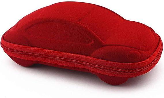 EMOHKCAB Estuche de Gafas con Forma de Coche para niños Gafas Lindas Estuche de Bolsa Strage Estuches para Gafas de Sol para niños Estuche para automóvil, Rojo: Amazon.es: Hogar