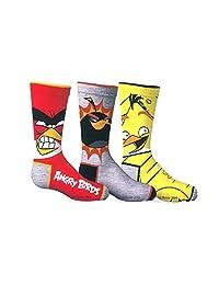 Angry Birds Boys 3-Pack Licensed Crew Socks
