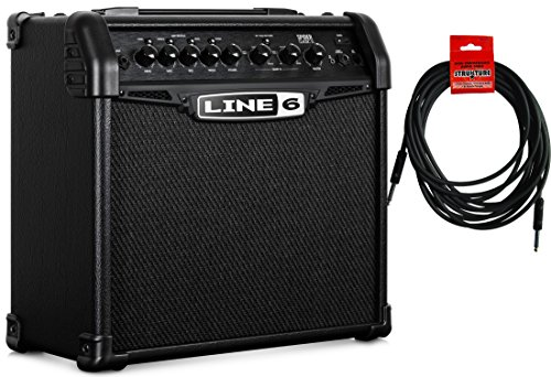 Line 6 Spider Classic 15 Electric Guitar Modeling Combo Amp w/ Cable by Line 6