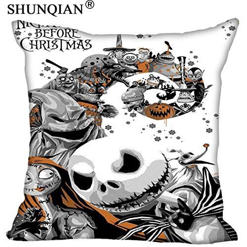 CHITOP Nightmare Before Christmas - Funda de Almohada con ...