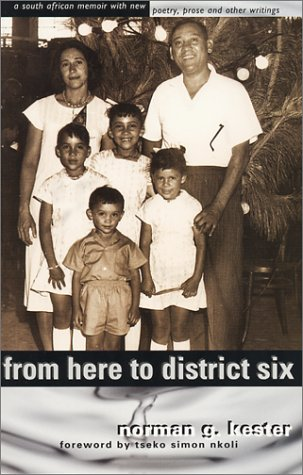 Download From here to District Six: A South African Memoir with New Poetry, Prose and Other Writings PDF