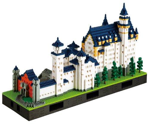 Nanoblock Neuschwanstein Castle Deluxe Building Kit