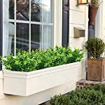 ElaDeco-Artificial-Boxwood-Pack-of-7Artificial-Farmhouse-Greenery-Boxwood-Stems-Fake-Plants-and-Greenery-Springs-for-FarmhouseHomeGardenOfficePatioWedding-and-Indoor-Outdoor-Decoration