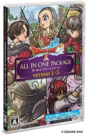 ドラゴンクエストX オールインワンパッケージ version 1-5【購入特典】ゲーム内アイテム「黄金の花びら×10個」 - Windows
