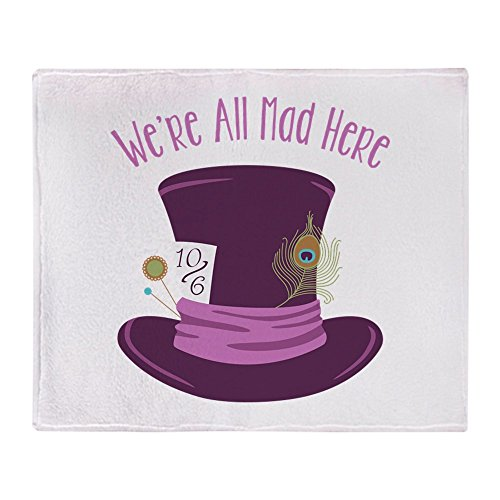 CafePress - Were All Mad - Soft Fleece Throw Blanket, 50