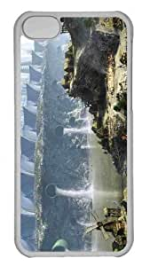 Customized iphone 5C PC Transparent Case - Village Personalized Cover