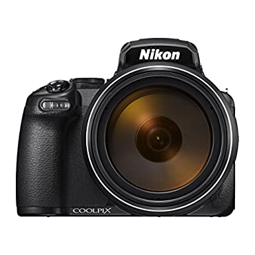 Nikon COOLPIX P1000 16.7 Digital Camera with 3.2 LCD, Black