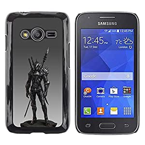LECELL--Funda protectora / Cubierta / Piel For Samsung Galaxy Ace 4 G313 SM-G313F -- Spear Fighter Pc Game Armor --