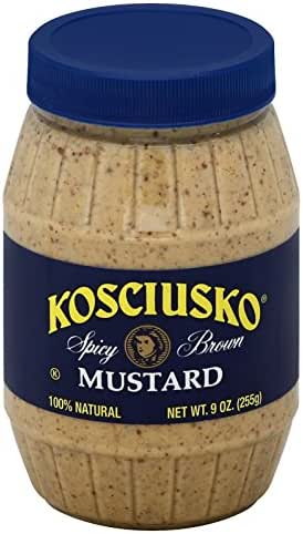 Mustard: Plochman's Kosciusko Spicy Brown