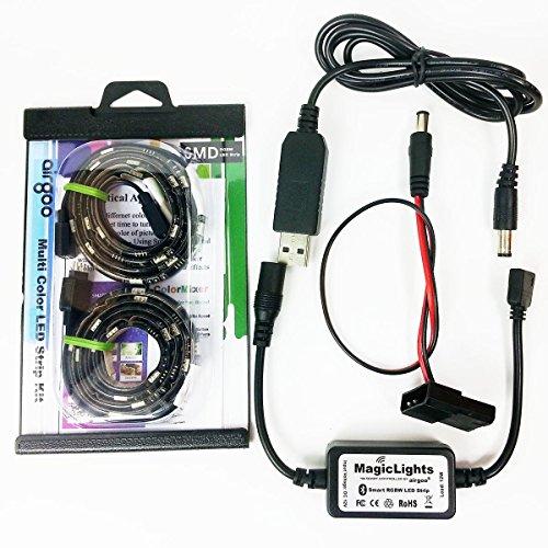 Airgoo® USB Powered Smart Bluetooth RGBW LED Strip Light ...
