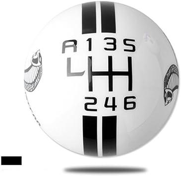 Nologo Perfekt 6-Gang Schaltknauf Hebel Schalthebel Ganghebel Handball F/ür Renault Megane Scenic Laguna Espace F/ür Vauxhall Opel Movano