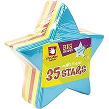 Foam Shapes 35/Pkg, Stars