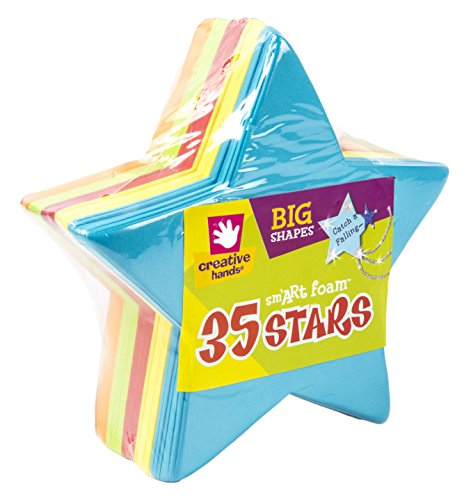 Foam Star (Foam Shapes 35/Pkg, Stars)