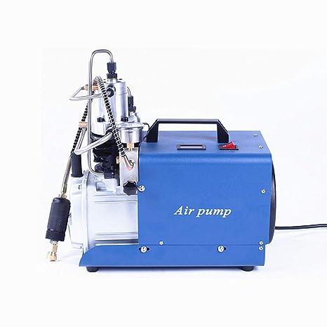 Alta presión 30 mpa Compresor eléctrico bomba PCP Bomba de aire eléctrica 110 V