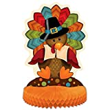 "14"" Cute Turkey Thanksgiving Centerpiece Decoration"