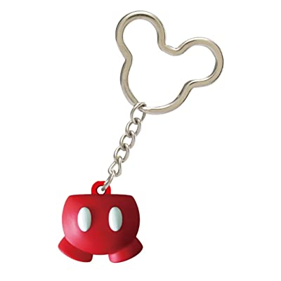 Disney Icon Ball Mickey's Pants Key Ring: Toys & Games