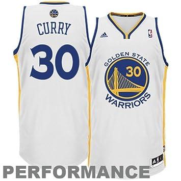 39732a4543b adidas NBA Men s Golden State Warriors Stephen Curry Revolution 30 Home  Swingman Jersey H Size (