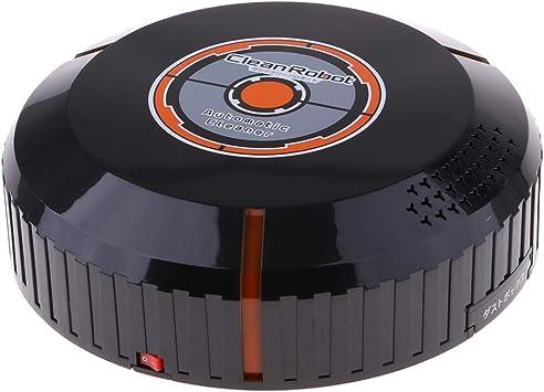 Robot Aspirador [trapeado, Barrido Y Aspirado], Barredora Automática Inteligente con Autocarga Y Aspiradora Robótica con Control Remoto para El Cabell - Negro, 23x23x7cm: Amazon.es: Juguetes y juegos