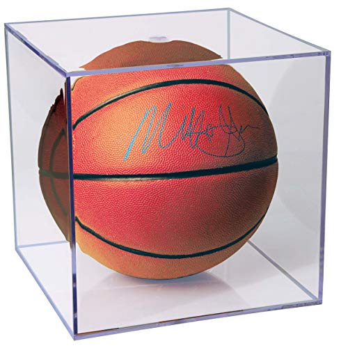 (Ultra Pro Basketball Clear Square Holder (Renewed))