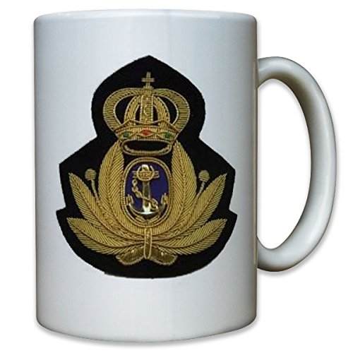Naval Badges Italy coins crest Italian army military - Coffee Cup - Badge Naval