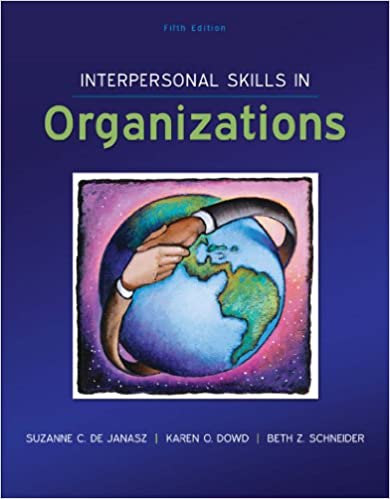 Amazon interpersonal skills in organizations ebook de janasz interpersonal skills in organizations 5th edition kindle edition fandeluxe Images