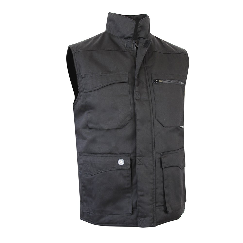 Taille 3 LMA 503000 GALET Bodywarmer Multipoches Noir