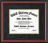 Cherry Glossy Mahogany Diploma Frame (8.5 x 11 documents)