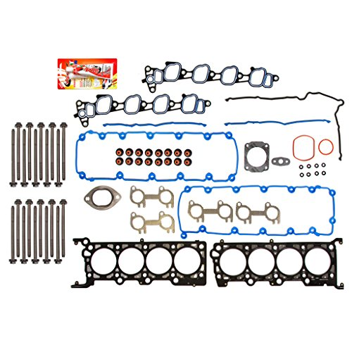99-00 Ford Mustang GT 4.6 SOHC VIN X Head Gasket Set Head Bolts -  Domestic Gaskets, HSHB8-21201